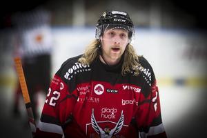 Martin Hellgren i HHC-tröjan förra säsongen.