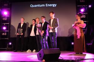 UF-företaget Quantum energy tog hem priset Årets affärsidé unga företagare.