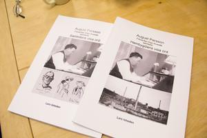 Lars Isheden har sammanställt två böcker om farfaderns korrespondens med både lokala och nationella kändisar.