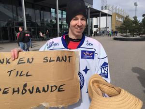 Andreas Lind i Leksandströjan.