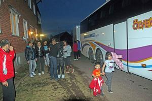På söndagskvällen lämnade de sista asylsökande Nåshemmet.