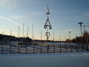 Vid Fänforsen i juletid