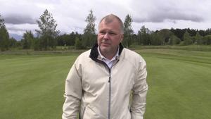 Gävle GK:s klubbchef Peter Stenberg ryser vid tanken på vildsvin på golfbanorna.