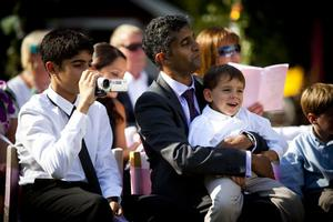 Familjen Da Silva reste 14 timmar för att bevittna bröllopet.