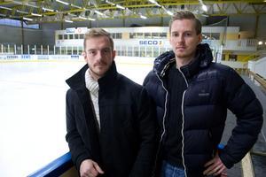 Andreas Nordfeldt och Ted Jokiniemi spelar på juldagen i samma lag.