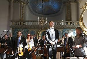 Dirigenten Jon Terje Svendsen ledde Nordiska kammarorkestern