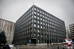 Tung arkitektonisk pärla. Riksbanken av Peter Celsing.