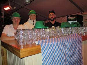 Jerker Blomqvist, David Lindgren och Patrik Hed laddade till tusen. Favorit i repris när Berggrenska ordnar oktoberfest för andra året i rad.