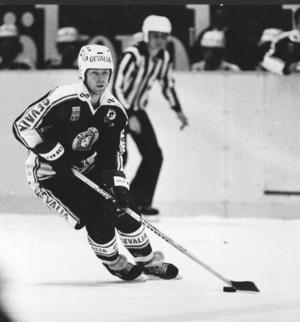 Gunnar Persson i mitten av 1980-talet.
