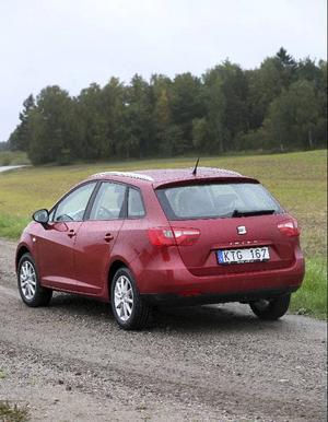 Seat Ibiza fick fem stjärnor i Euro Ncap:s krocktest.