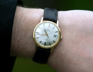 Jonas Millards favoritpryl: Hans armbandsur.