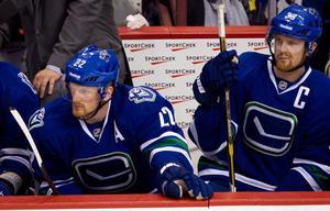 Tvillingarna Sedin vill spela med Modo vid inställd NHL-säsong.