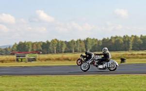 Av tävlingens 14 klasser kördes fem med  motorcykel. Foto: Theres Johansson/DT