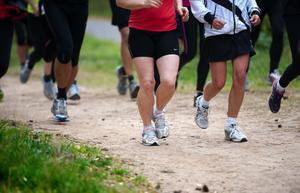 Deltagarna fick lära sig lite om löpningens grunder och vikten av en bra hållning under premiären för Göteborgsvarvets löparkväll i Mellsta.