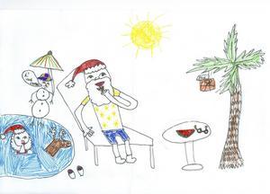 Lovisa 9 år från Gävle har ritat