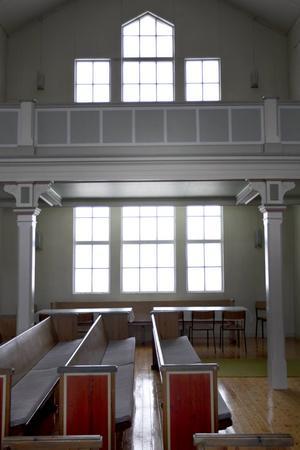 Högt i tak och stora fönster,