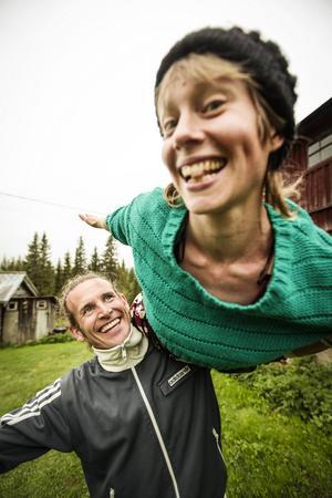 Nordcirkus är Daniel och Sara Oja.