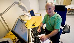 Kristian Wallner, läkare på Bergslagssjukhuset, träffar sällan patienter som vill dölja besvär de haft tidigare.