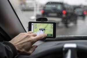 En navigator visar inte bara vägen, den ger dig också information längs rutten och lägger fram förslag.Foto: Anders Wiklund/TT