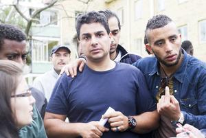 Malik Al Dablan är tacksam för mottagandet men menar att boendet på Kulthammar inte håller måttet.