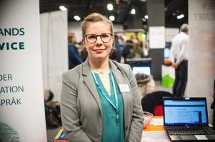 I samband med fjolårets jobbmässa fick Västmanlands tolkservice in cirka 500 ansökningar. I år hoppas verksamhetschefen Sara Walsöe Pedersen på åtminstone 100, då kopplat till utbildningskraven som nu ställs.