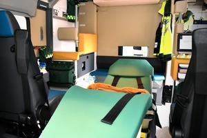 Denna bår har många funktioner som underlättar arbetet för personalen.