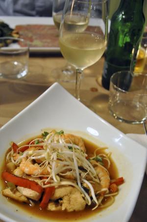 Baleak i Biarritz serverar fräscha rätter av fångsten från havet.