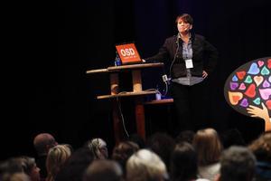 Lotta Andréasson Edman barnmorska och delägare av Mama Mia Söder som startade upp sin regnbågsverksamhet 2003.