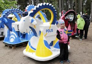 Polisen bock i paraden var Clara Oderstads favorit.