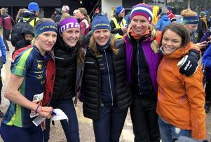 En sjätteplats på klassiska Tiomila blev det för Natalia Vinogradova, Sara Eskilsson, Galina Vinogradova, Josefine Engström och Ylva Kindlundh.