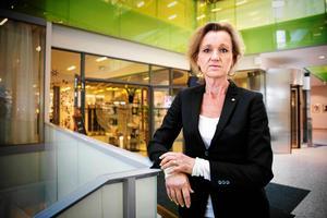 Boel Godner (S), kommunstyrelsens ordförande i Södertälje, kan bli Årets maktmappie 2017. Arkivbild.