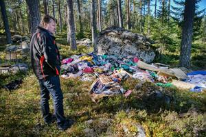 Leif Östman, Söderhamns kommun, besökte ett bärplockarläger med länsstyrelsen inför rapporten.