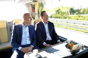 Det lönar sig för Fredrik Reinfeldt att Anders Borg arbetar.