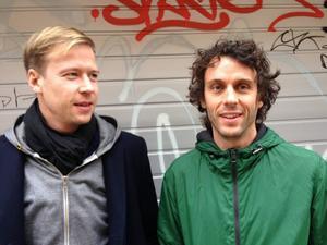 Författarna Jon Rönström och Anders Ekman har skrivit boken