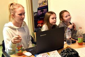 Fanny Wiik, Ida Thomsson och Lova Wiik har varit med i föreningen ett tag.