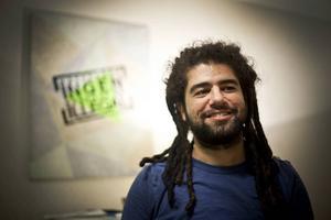 Zhiwar Rashid är aktivist i Ingen människa är illegal i Östersund.