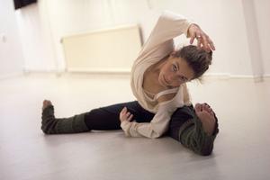 Dansläraren Anna Sandstedt fick vara elev för en dag.
