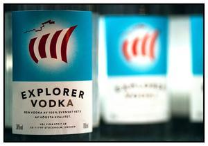 Explorer Vodka tronar ohotat på första platsen över mest sålda spritsorter på Systembolaget.