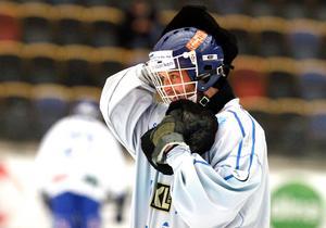 Jacob Claesson under den korta sejouren i IFK Motala hösten 2017. Arkivfoto