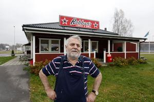 Toni Swartling arrenderar restaurangen fram till årsskiftet. Men han hoppas få fortsätta längre än så.GD i går, fredag.