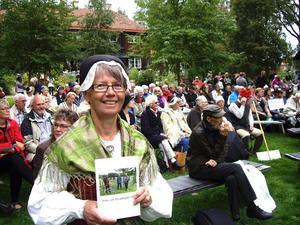 Karin Jirdén, redaktör för Oviks- och Myssjöbygden 2012.