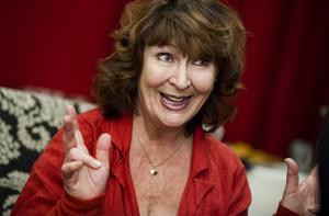 Kim Anderzon, 71, skådespelerska.
