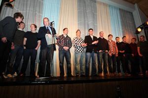 Klubbens fotbollslags fick årets idrottsmedalj. En medalj som har delats ut sedan i början av 50-talet.  Bland tidigare medaljörer finns skidåkaren Artur Herrdin och skidskytten Anna Carin Olofsson– Zidek.