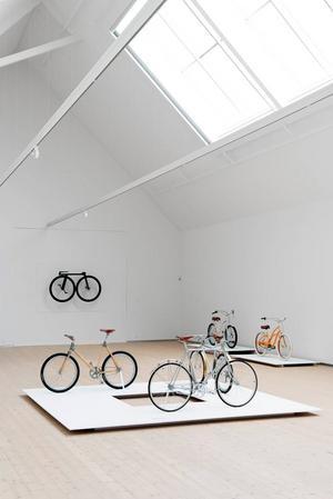Sportigt. Vandalorum öppnar med en utställning om cyklar.