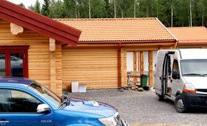 Ännu ett hus är länsat av tjuvar. Denna gång en nästan färdigbyggd villa vid sjön Väsman, efter Mässanvägen utanför Ludvika.