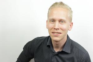 Johannes Nilsson, utvecklingsledare på Skinnskattebergs kommun, berättar att kommunen saknar modern IT-policy.