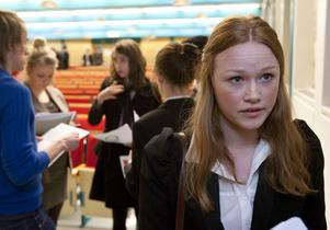 Sofi Holmlund representerar Kina. Rollspel är enligt henne ett roligt och lärorikt arbetsätt.