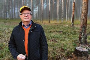 Thomas Björklund är trött på domstolsprocesserna kring licensjakten på varg.