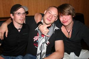 Pluto. Tommy, Rikard och Konrad