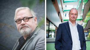 Tommy Hansson (SD) och stadsdirektör Martin Andreae.